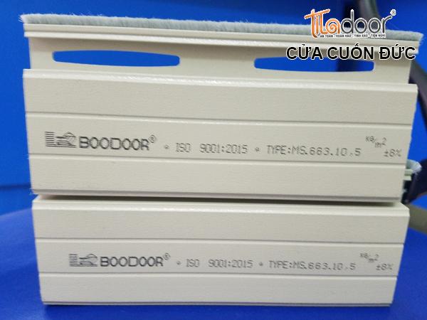 Cửa cuốn Đức Boodoor 663 - Cửa Boodoor 663