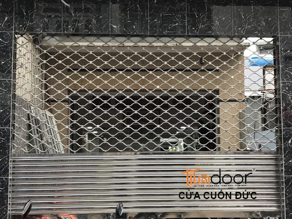 Cửa Cuốn Mắc Võng - Báo Giá Cửa Cuốn Lưới Mắc Võng Inox